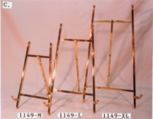 EASEL STANDS (SOLID BRASS)