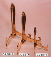 PLATE STANDS ( SOLID BRASS)